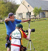 Two Junction Archers on the shooting line