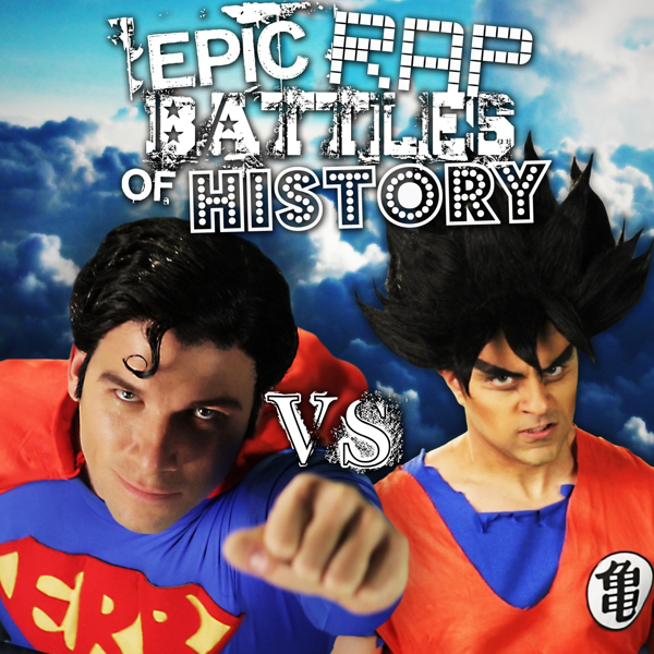 Cover du battle Goku vs Superman