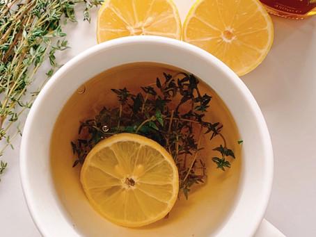Sweet Lemony Thyme Tea