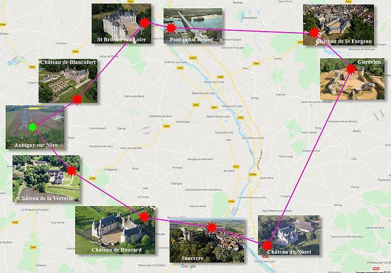 Plan Nav Sancerre - Aubigny sur Nère