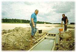 Construction caniveau