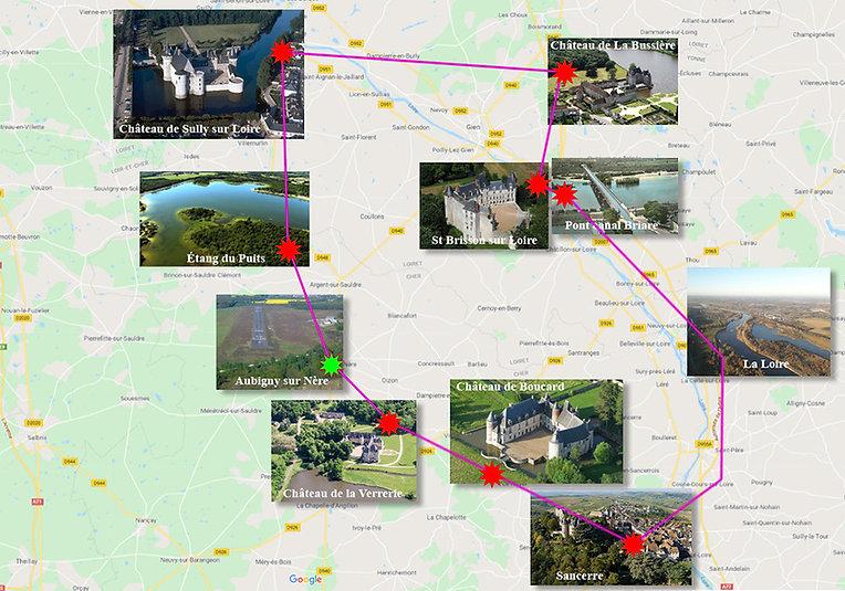 Plan Nav Sully Sancerre - Aubigny sur Nère