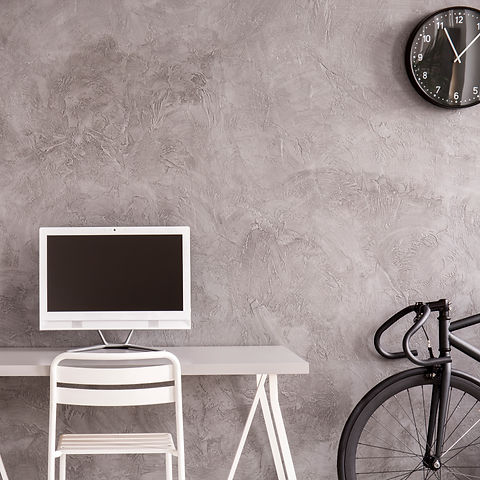 grey-home-office-with-white-desk-P5LWEVH