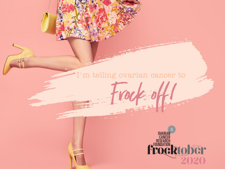 Frocktober 2020...who, what, when, where & why