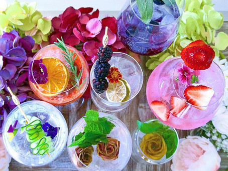 Splendorous six: pink gins