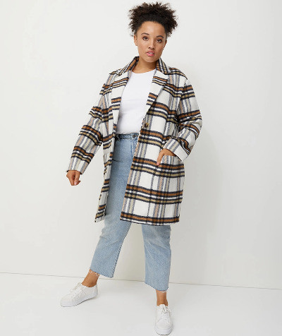 which checked coat