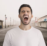 Man Shouting
