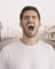 Man Shouting