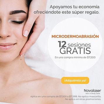 promoción microdermoabrasión