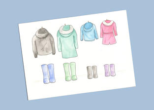Wellies and coats from £20.00