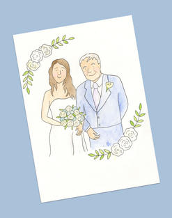 Bride and father of bride £30.00