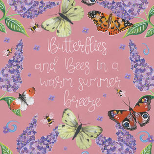 Butterflies and bees £2.50 + P&P
