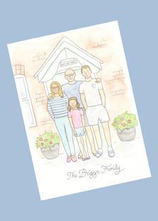 Full length family £30.00+