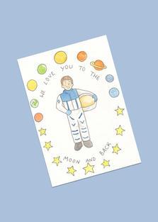Small astronaut £15.00