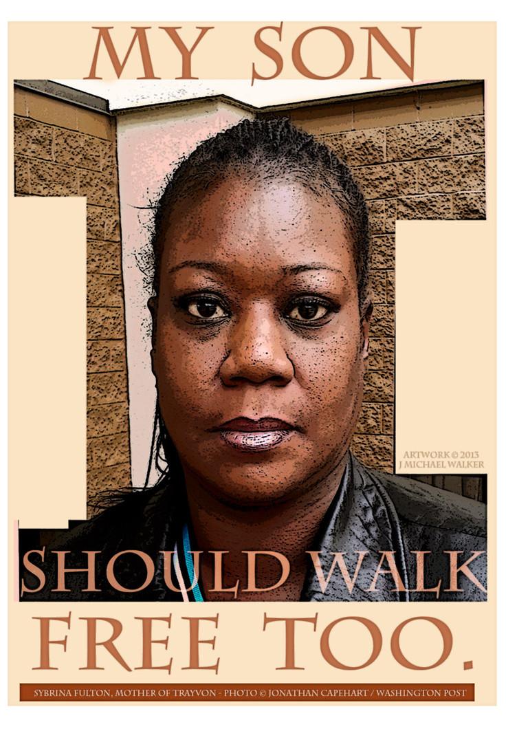 """""""Sybrina Fulton, Trayvon's Mom,"""" 2013"""