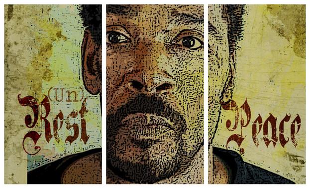 """Rodney King, (Un)Rest in Peace"", 2012"