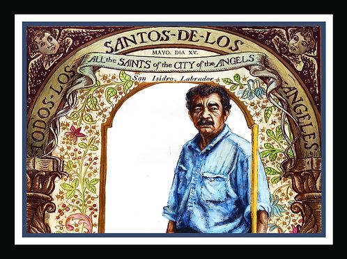 San Ysidro Drive (Patron Saint of Gardeners and Day Laborers)