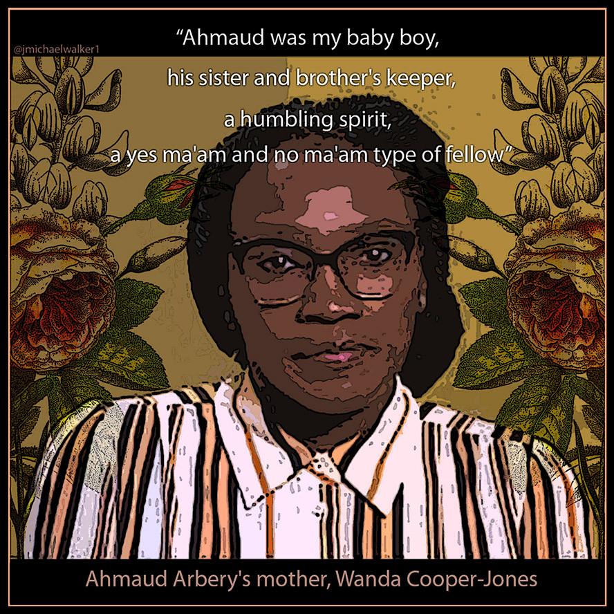 """""""Wanda Cooper's Poem about Ahmaud,"""" 2020"""