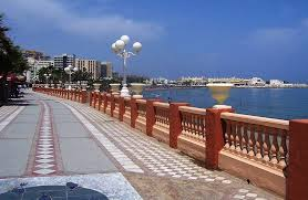 Walk along the Promenade