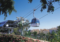 Cable Car Ride to the Calamorro Mountain