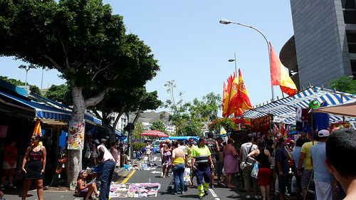 Visit a Street Market