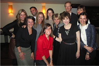 Marcia's team holiday party 2012