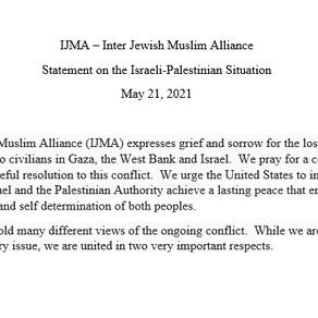 IJMA Statement on the Israeli-Palestinian Situation
