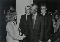 Marcia and Mandela