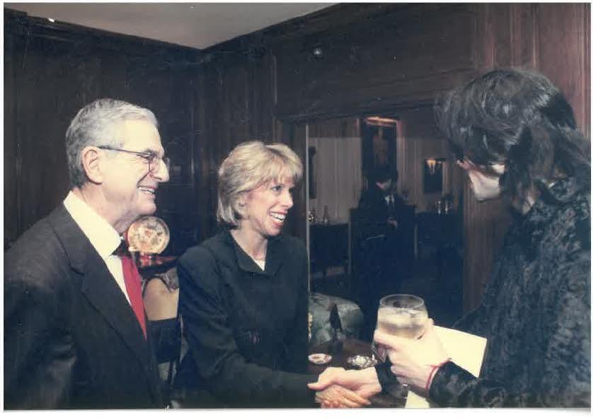 Marcia, Howard and MJ
