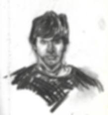 Clive Hathaway Travis self portrait