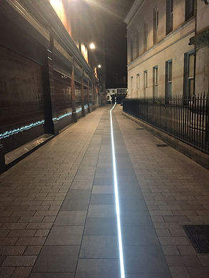 Belfast City drunkard's flight path to Kelly's Cellars