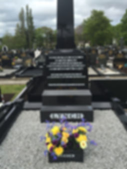 Photo of Kevin Lynch RIP's grave taken by Clive Hathaway Travis in Dungiven.