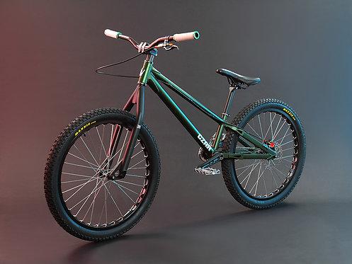 """CZAR 24"""" Street Bike Green"""