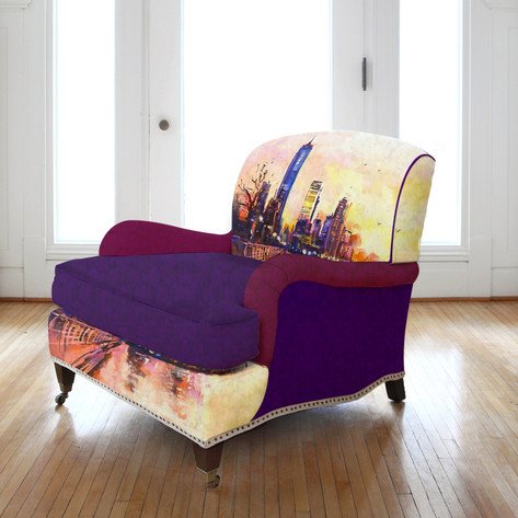 City armchair
