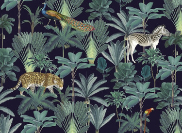 A Beastly&Beautiful original, Wild Palms Photoshop file.