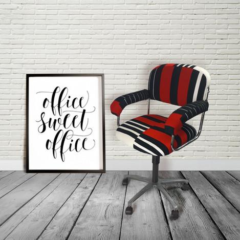 Vintage office swivel chair