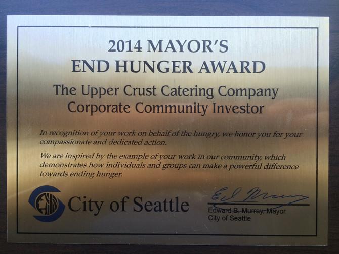 Winner of the 2014 End Hunger Award