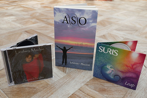 Super special - The novel ASO, with CD Leap & CD Plaques and Tangles