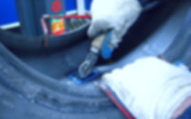 Установка латки на спецтехнику или грузовик