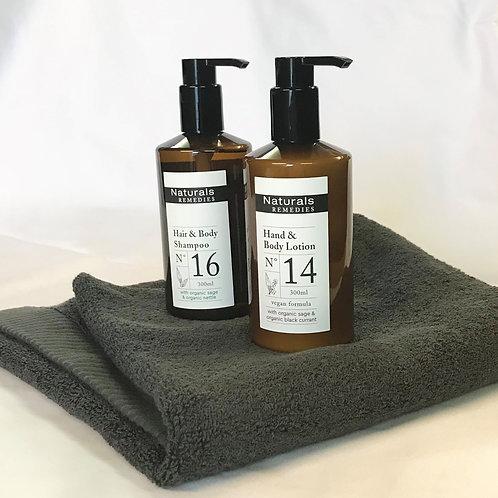 Shampoo & Body lotion