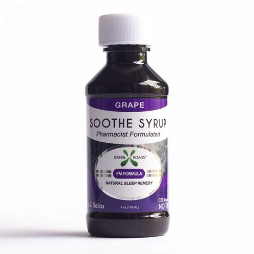 GREEN ROADS WORLD CBD Grape Soothe Syrup – 60 MG