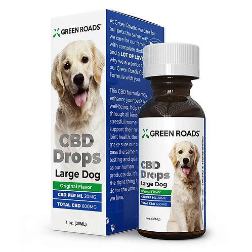 GREEN ROADS WORLD – Pet Drops - Large Dog - 600mg