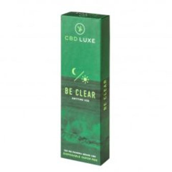 CBDLuxe - 200mg Organic Disposable Vaporizers – Be Clear – Anytime Use