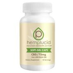 Hemp Lucid Soft-Gel CBD – 75mg/30ct