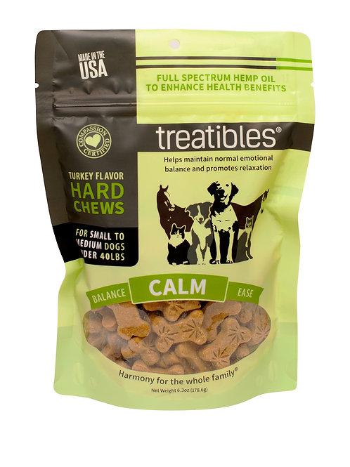 Treatibles – Hard Chews – Small Dog – Turkey Flavor