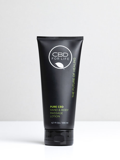 CBD FOR LIFE Hand and Body Massage Lotion