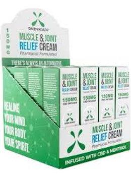 GREEN ROADS WORLD CBD Muscle & Joint Cream - 300mg