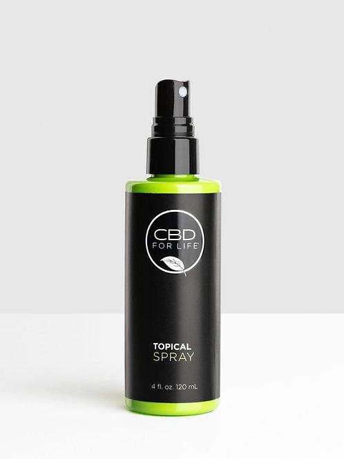 CBD FOR LIFE CBD Topical Spray
