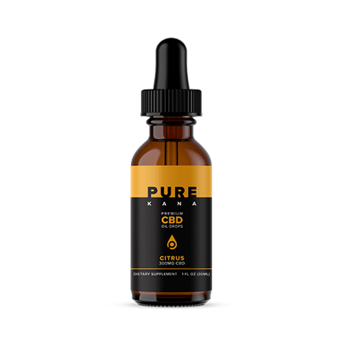 Pure Kana Tincture – 300mg - Citrus Flavored