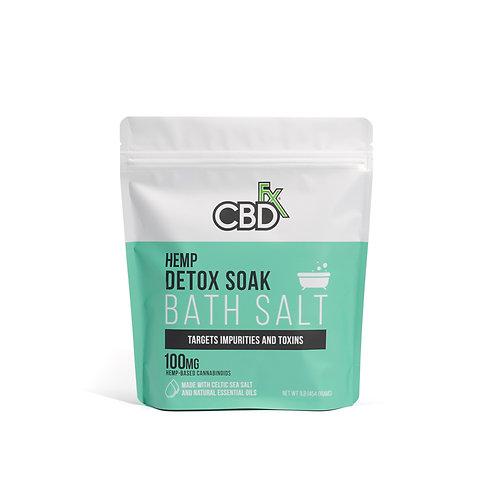 CBDfx Bath Salts - Detox